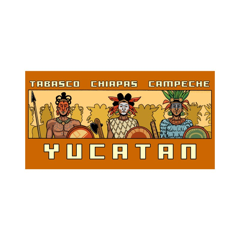 Yucatan by Big Red Hair's Artist Shop