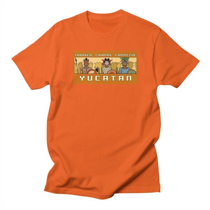 Yucatan Men's Regular T-Shirt by Big Red Hair's Artist Shop