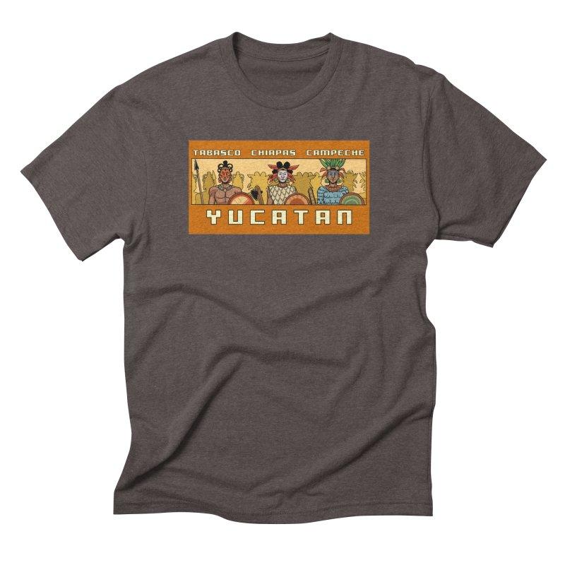 Yucatan Men's Triblend T-Shirt by Big Red Hair's Artist Shop