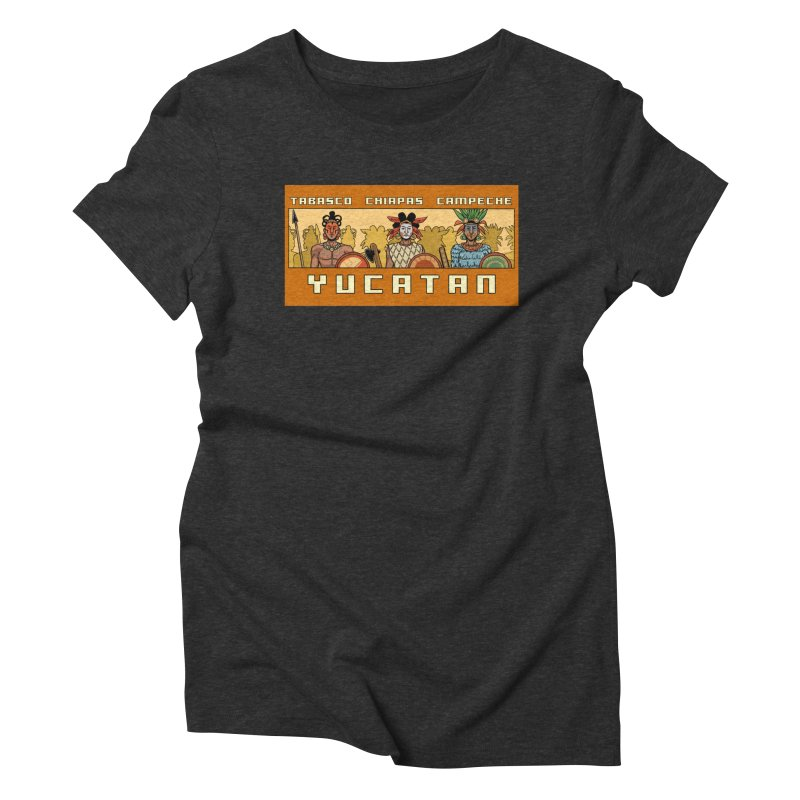 Yucatan Women's Triblend T-Shirt by Big Red Hair's Artist Shop
