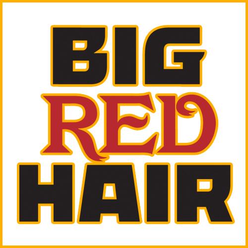 Big Red Hair's Artist Shop Logo