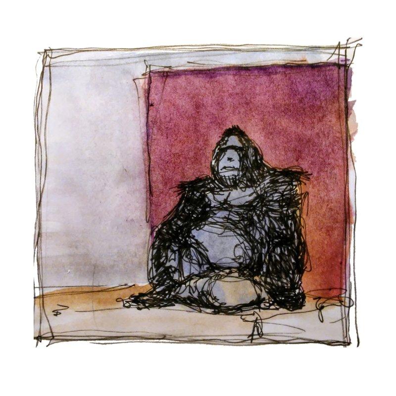 Zen Gorilla by BigStickArts's Artist Shop