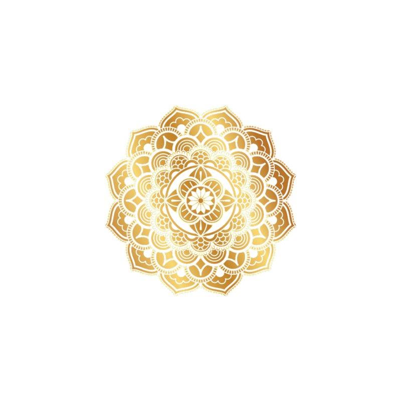 Gold Mandala Accessories Magnet by BigmasterZ's Artist Shop