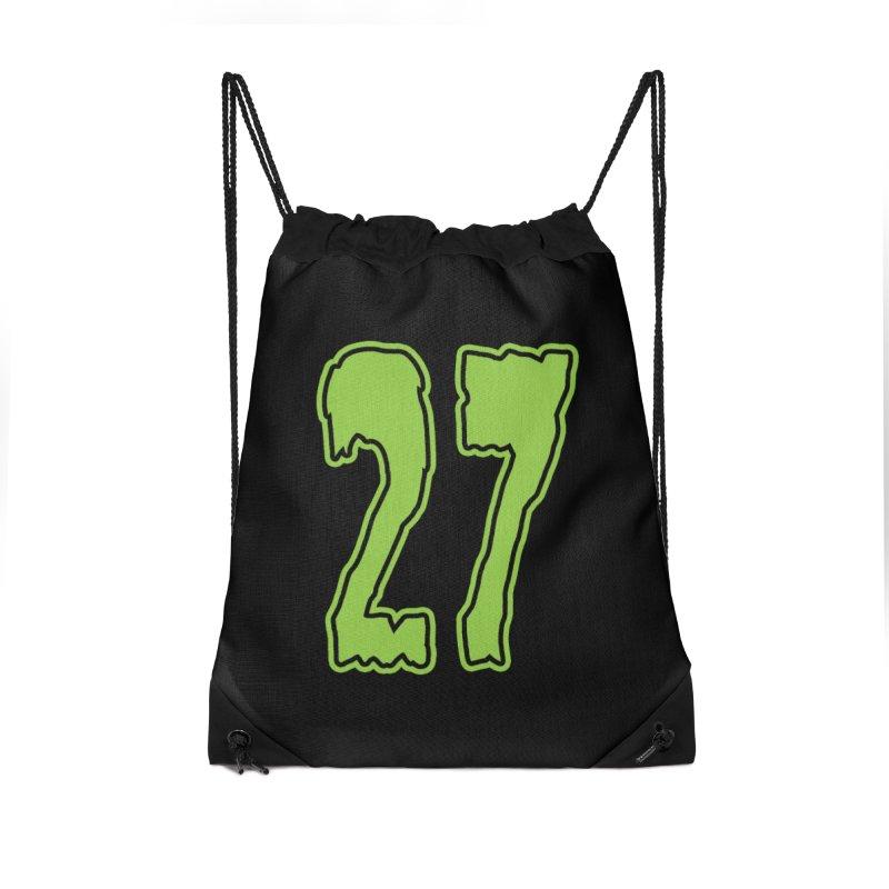 27 Pocket Logo Accessories Bag by Billy Martin's Artist Shop