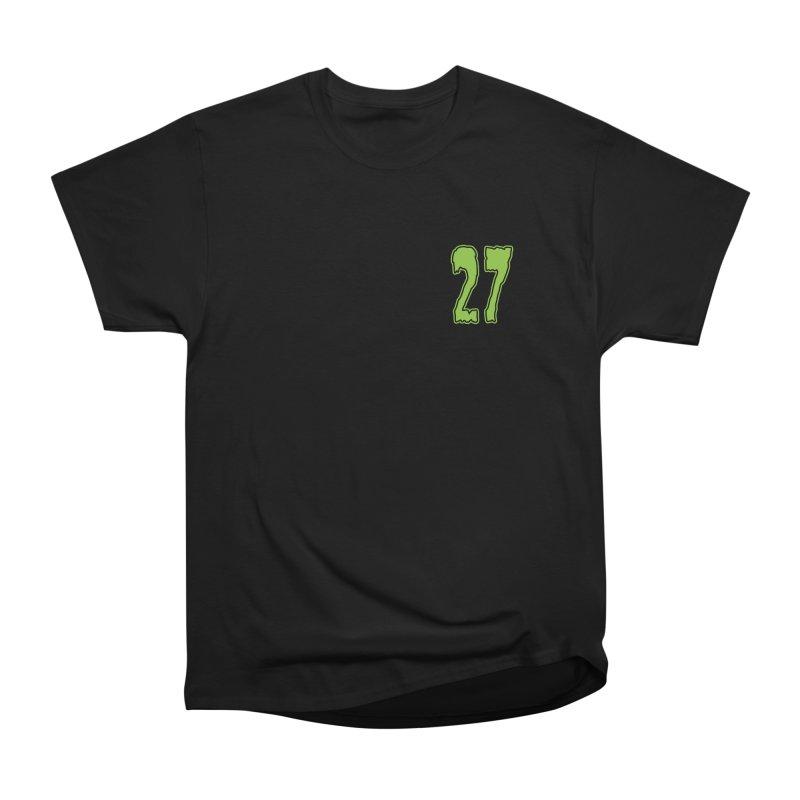 27 Pocket Logo Women's Heavyweight Unisex T-Shirt by Billy Martin's Artist Shop