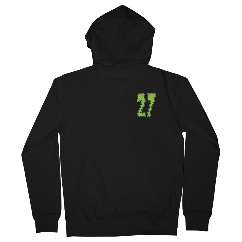 27 Pocket Logo Men's French Terry Zip-Up Hoody by Billy Martin's Artist Shop