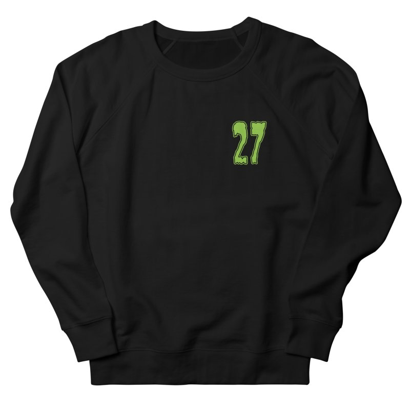 27 Pocket Logo Women's French Terry Sweatshirt by Billy Martin's Artist Shop
