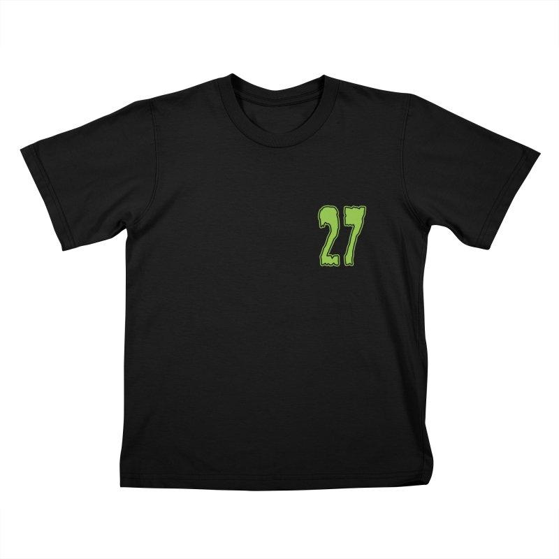 27 Pocket Logo Kids T-Shirt by Billy Martin's Artist Shop