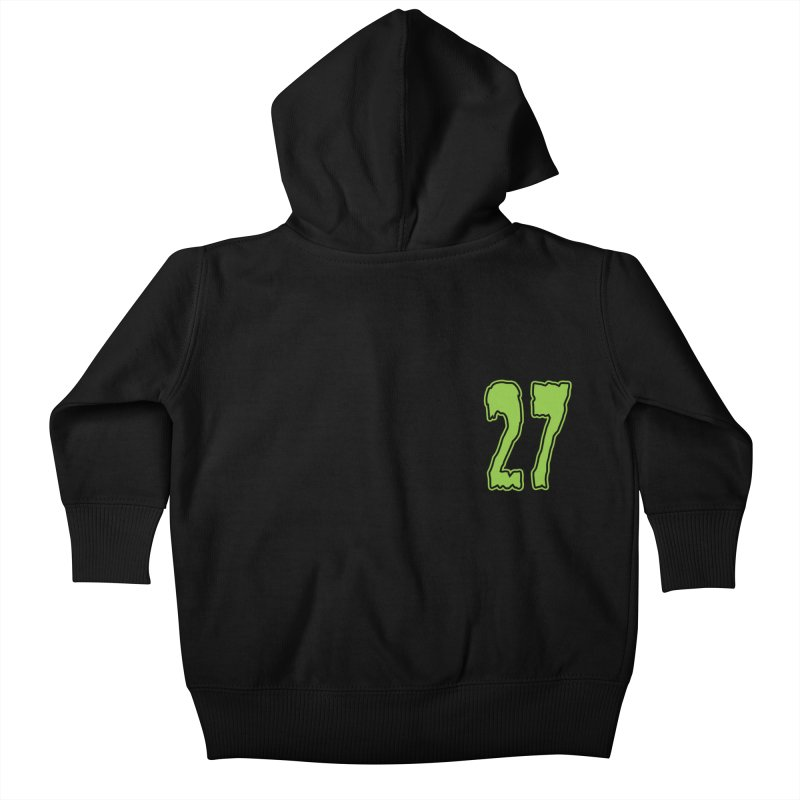 27 Pocket Logo Kids Baby Zip-Up Hoody by Billy Martin's Artist Shop