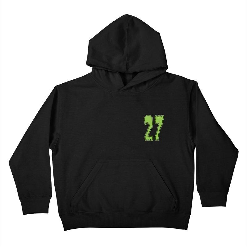 27 Pocket Logo Kids Pullover Hoody by Billy Martin's Artist Shop