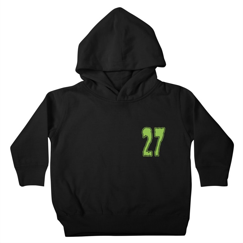 27 Pocket Logo Kids Toddler Pullover Hoody by Billy Martin's Artist Shop