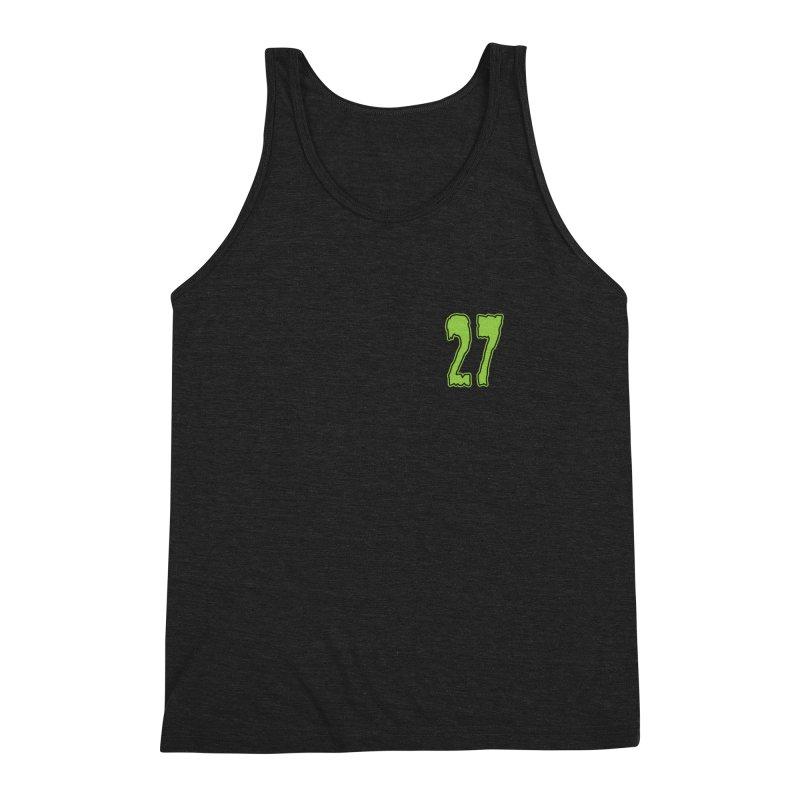 27 Pocket Logo Men's Triblend Tank by Billy Martin's Artist Shop