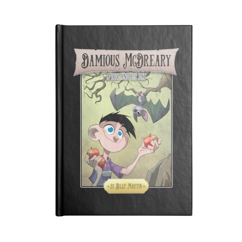 Damious McDreary Accessories Notebook by Billy Martin's Artist Shop