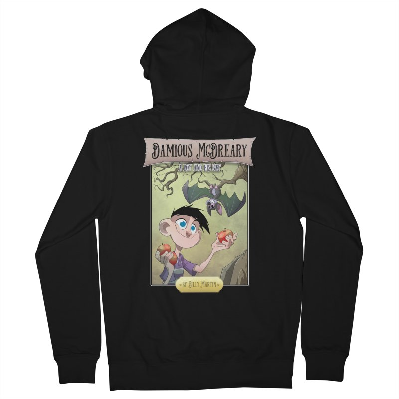 Damious McDreary Men's French Terry Zip-Up Hoody by Billy Martin's Artist Shop
