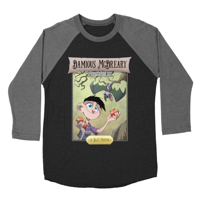 Damious McDreary Men's Baseball Triblend Longsleeve T-Shirt by Billy Martin's Artist Shop