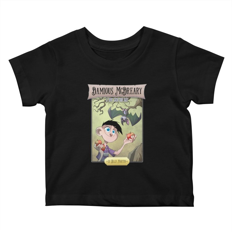 Damious McDreary Kids Baby T-Shirt by Billy Martin's Artist Shop