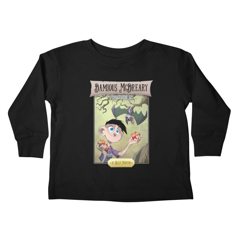 Damious McDreary Kids Toddler Longsleeve T-Shirt by Billy Martin's Artist Shop