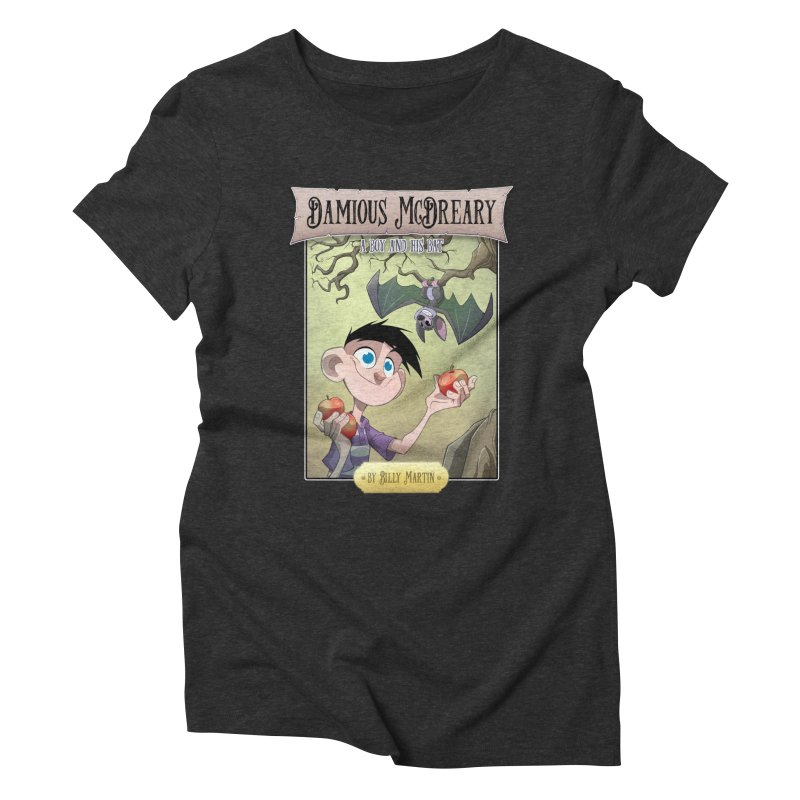 Damious McDreary Women's Triblend T-Shirt by Billy Martin's Artist Shop