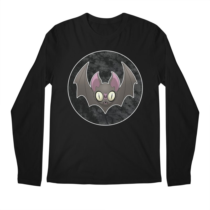 Batty Men's Regular Longsleeve T-Shirt by Billy Martin's Artist Shop