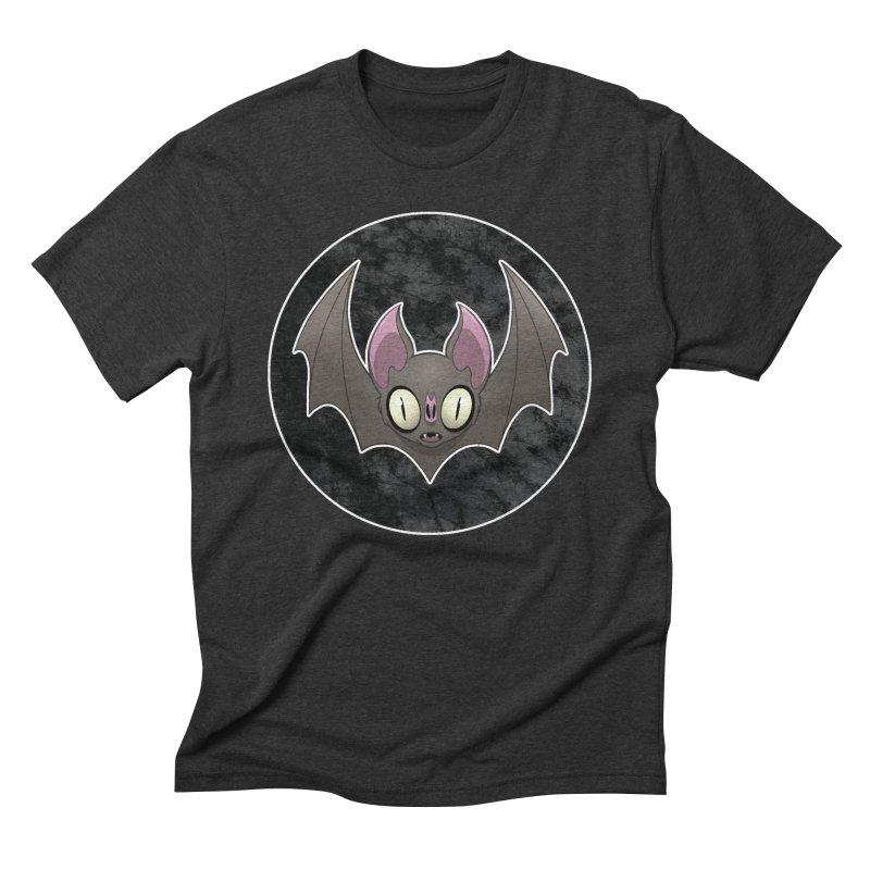 Batty Men's Triblend T-Shirt by Billy Martin's Artist Shop