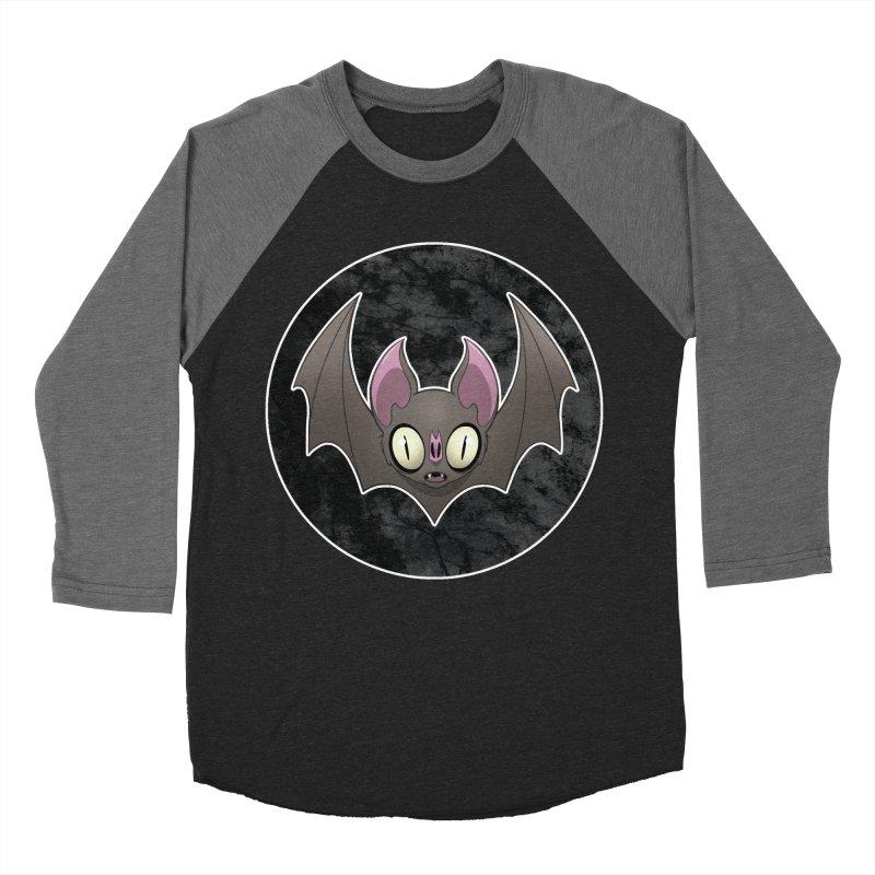 Batty Men's Baseball Triblend Longsleeve T-Shirt by Billy Martin's Artist Shop