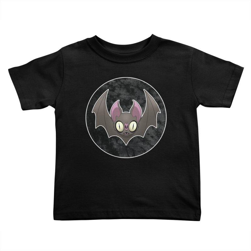 Batty Kids Toddler T-Shirt by Billy Martin's Artist Shop