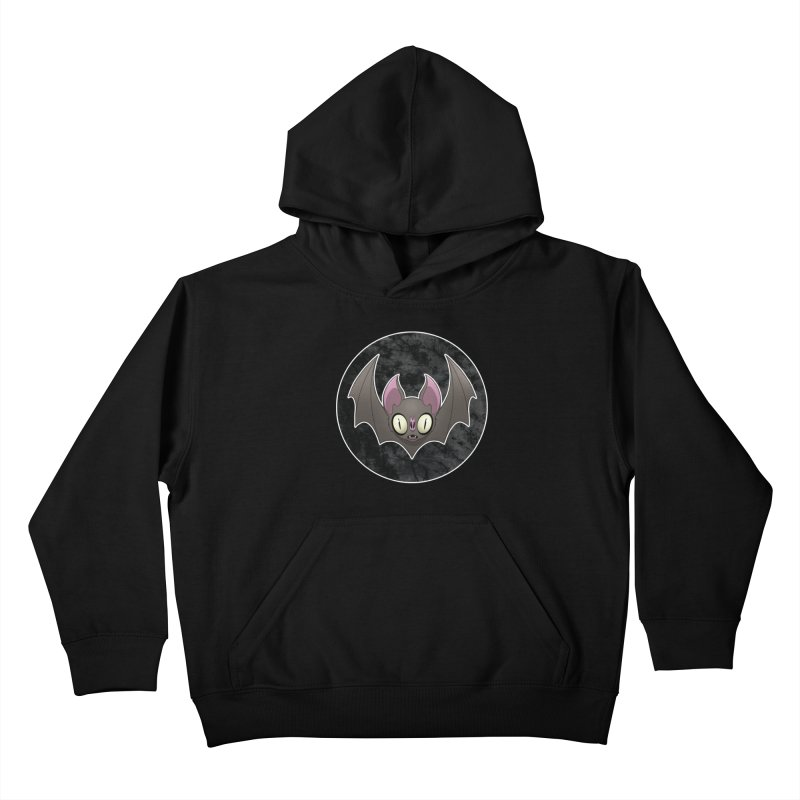 Batty Kids Pullover Hoody by Billy Martin's Artist Shop