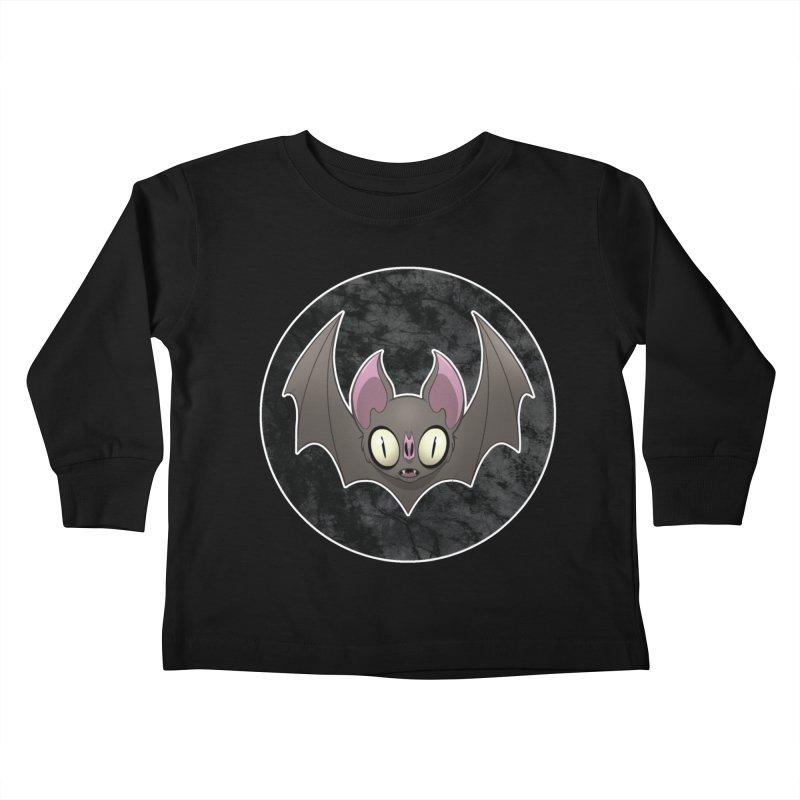 Batty Kids Toddler Longsleeve T-Shirt by Billy Martin's Artist Shop