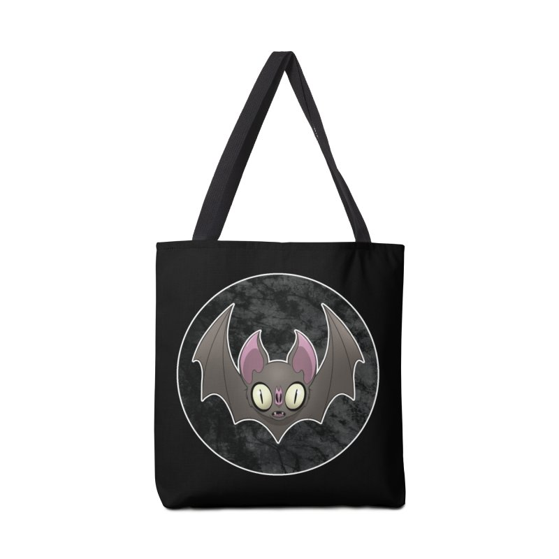 Batty Accessories Tote Bag Bag by Billy Martin's Artist Shop