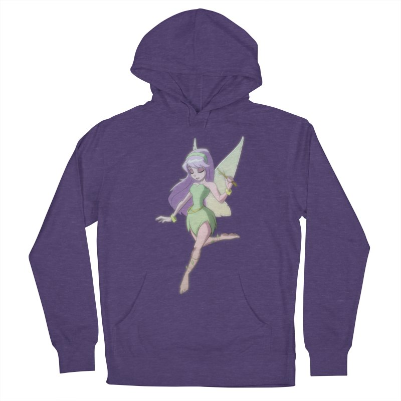 Fairy Women's French Terry Pullover Hoody by Billy Martin's Artist Shop