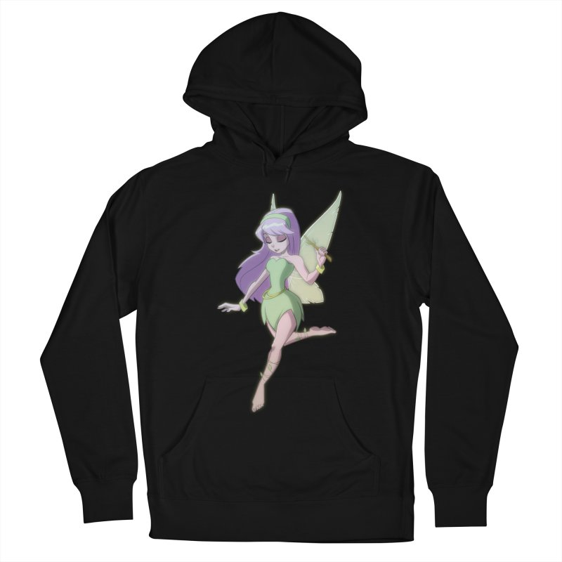Fairy Men's French Terry Pullover Hoody by Billy Martin's Artist Shop
