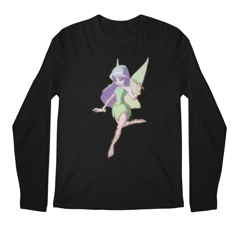 Fairy Men's Regular Longsleeve T-Shirt by Billy Martin's Artist Shop