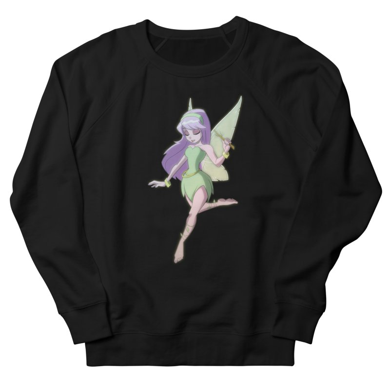 Fairy Women's French Terry Sweatshirt by Billy Martin's Artist Shop