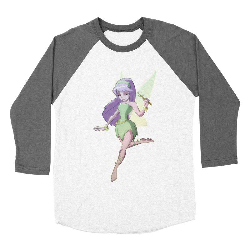 Fairy Men's Baseball Triblend Longsleeve T-Shirt by Billy Martin's Artist Shop