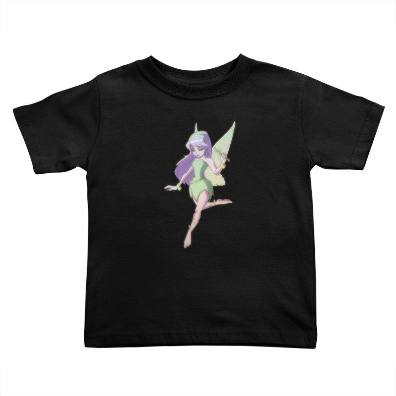 Fairy Kids Toddler T-Shirt by Billy Martin's Artist Shop