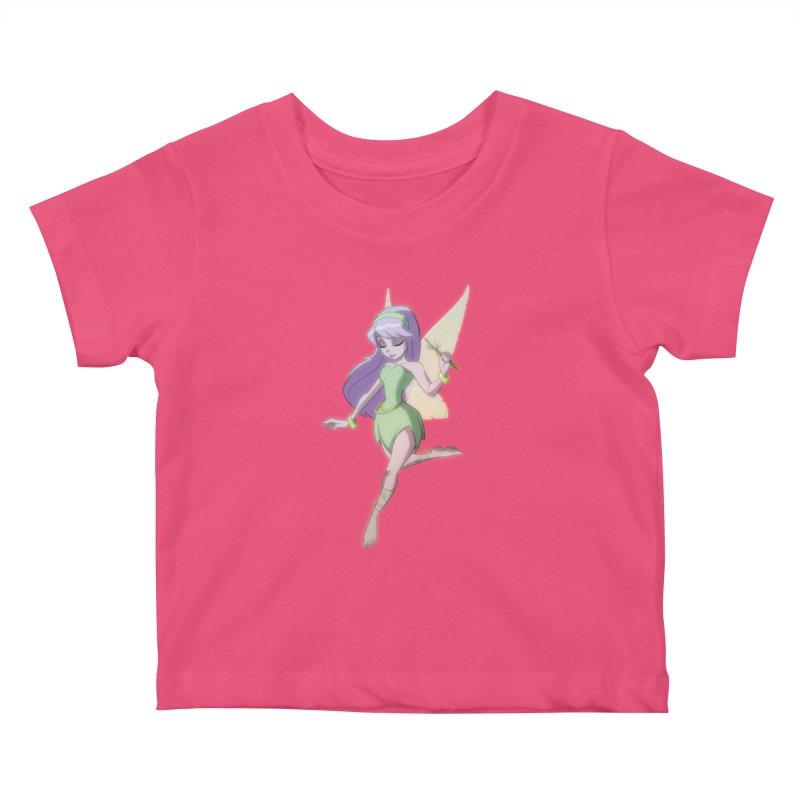 Fairy Kids Baby T-Shirt by Billy Martin's Artist Shop