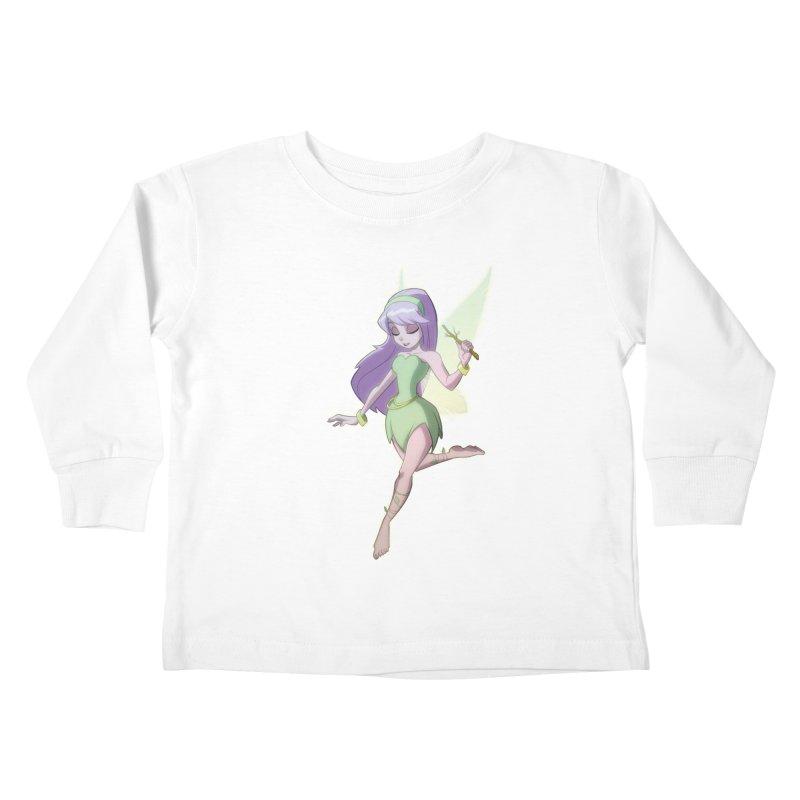Fairy Kids Toddler Longsleeve T-Shirt by Billy Martin's Artist Shop