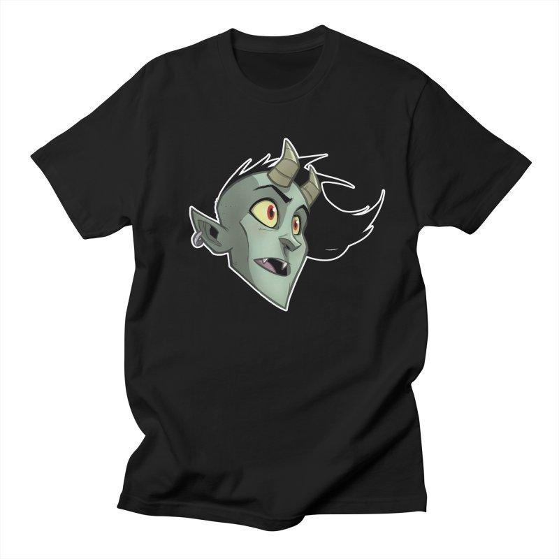 Demon Head Women's Regular Unisex T-Shirt by Billy Martin's Artist Shop