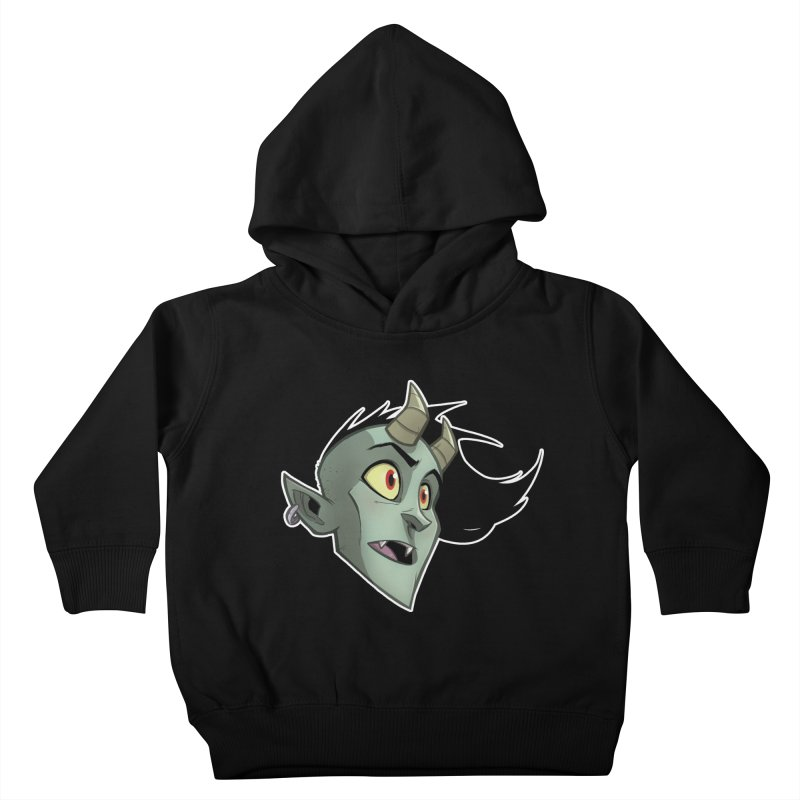 Demon Head Kids Toddler Pullover Hoody by Billy Martin's Artist Shop
