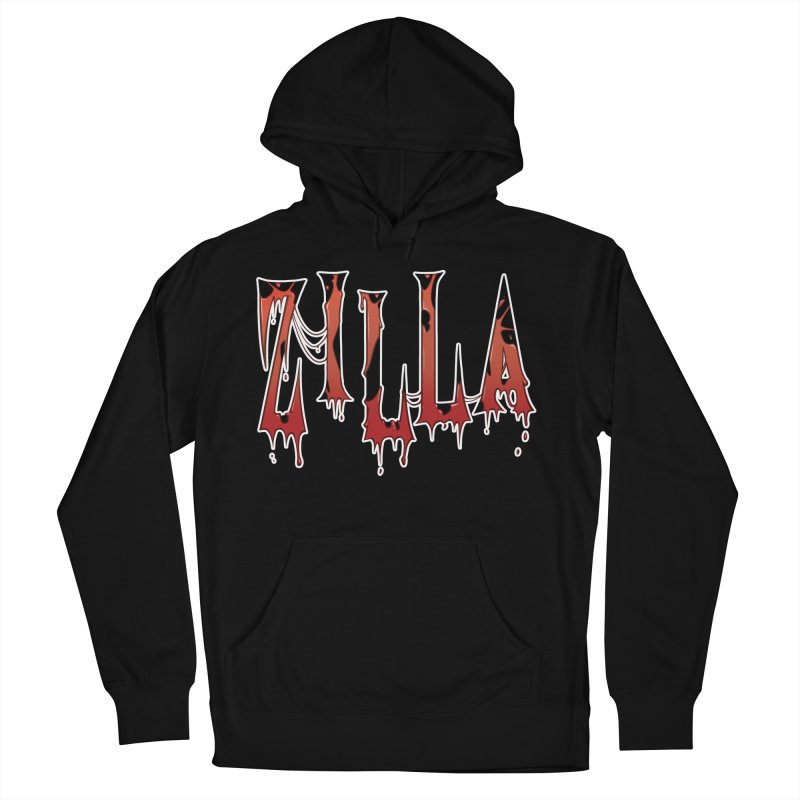 Bloodzilla Men's French Terry Pullover Hoody by Billy Martin's Artist Shop