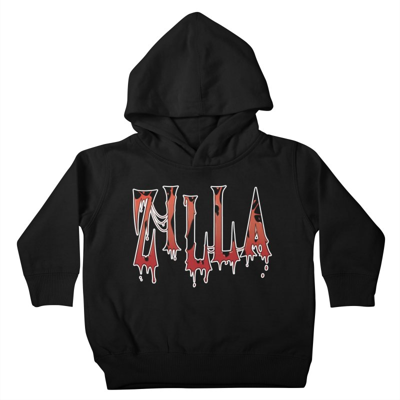 Bloodzilla Kids Toddler Pullover Hoody by Billy Martin's Artist Shop