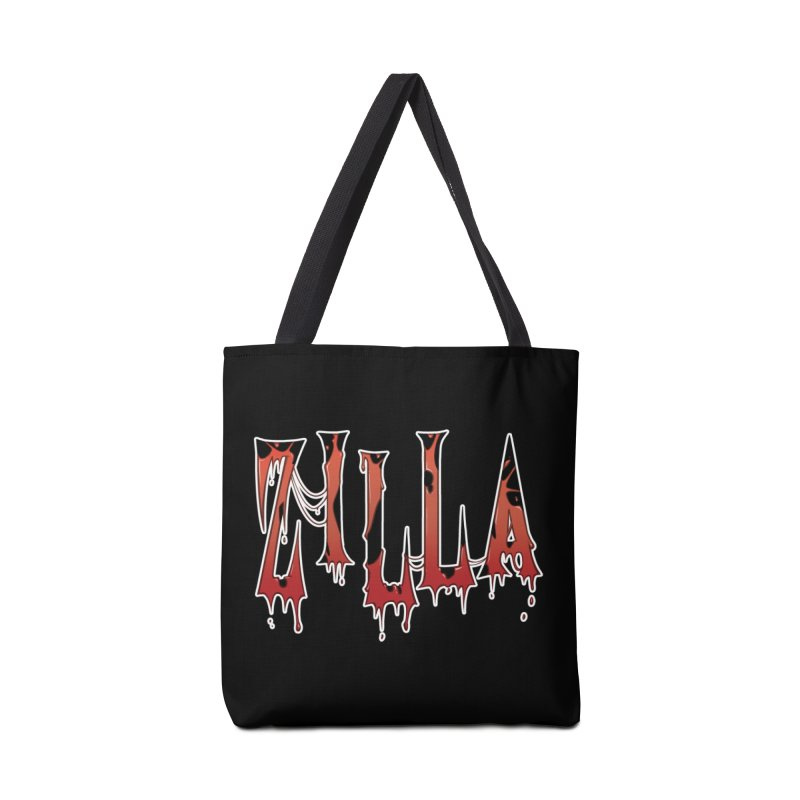 Bloodzilla Accessories Tote Bag Bag by Billy Martin's Artist Shop
