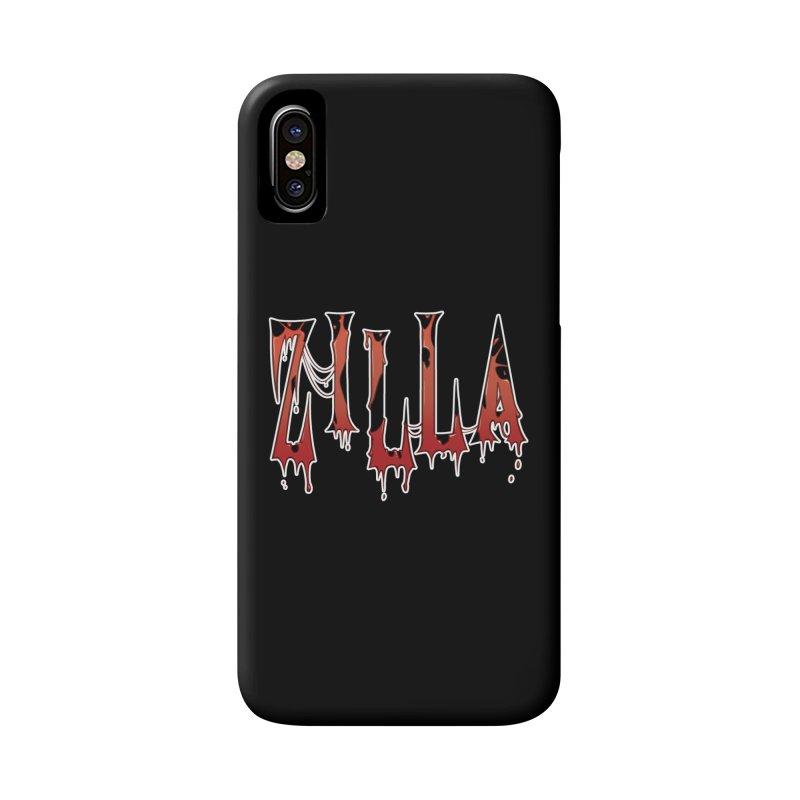 Bloodzilla Accessories Phone Case by Billy Martin's Artist Shop