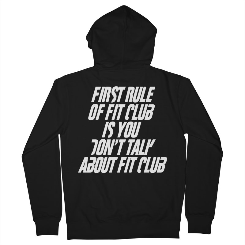 First Rule Men's Zip-Up Hoody by BIZ SHAW
