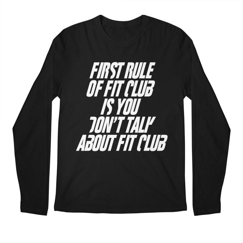 First Rule Men's Longsleeve T-Shirt by BIZ SHAW