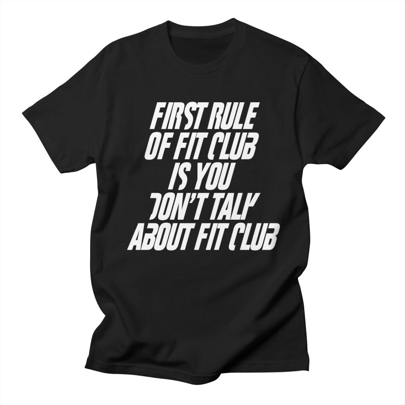 First Rule Men's T-Shirt by BIZ SHAW