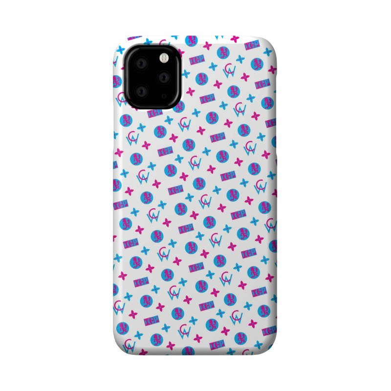 COC - Wicked Clown Louis Vuitton - White Accessories Phone Case by BIZ SHAW