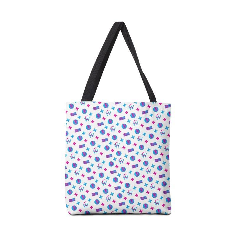 COC - Wicked Clown Louis Vuitton - White Accessories Bag by BIZ SHAW