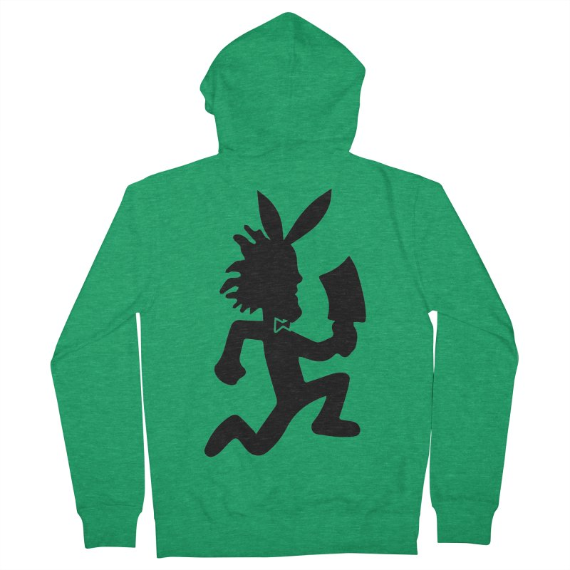 Hatchet Playboy Men's Zip-Up Hoody by BIZ SHAW