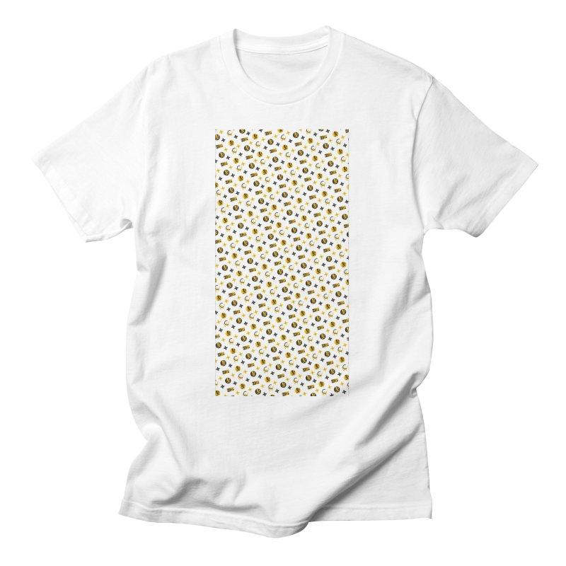RM - Wicked Clown Louis Vuitton - White Men's T-Shirt by BIZ SHAW